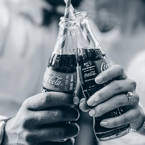 Coca-cola flasker