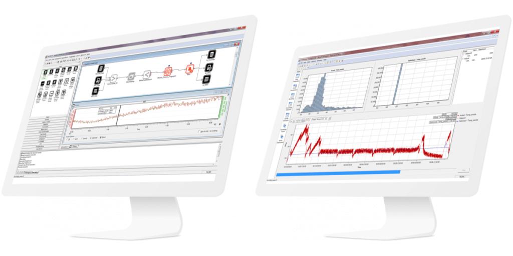 Mockup: GE Digital Proficy CSense, Architect og Process Twin