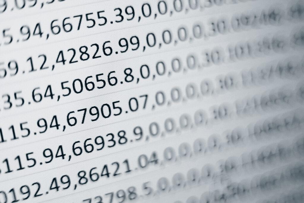 Ustrukturert data illustrerer datafangst.