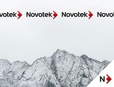 Visuell identitet for Novotek.