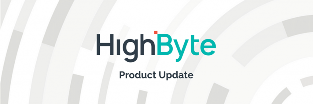 HighByte produktoppdatering