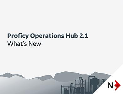 Proficy Operations Hub 2.1