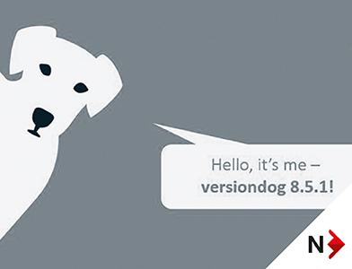 Versiondog 8.5.1 produktoppdatering